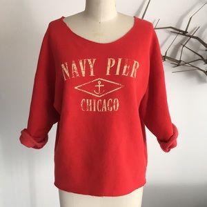 Karen Zambos Deconstructed sweatshirt
